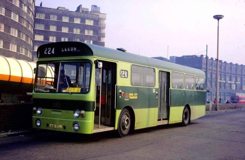 1971 AEC Swift with Roe B48D body