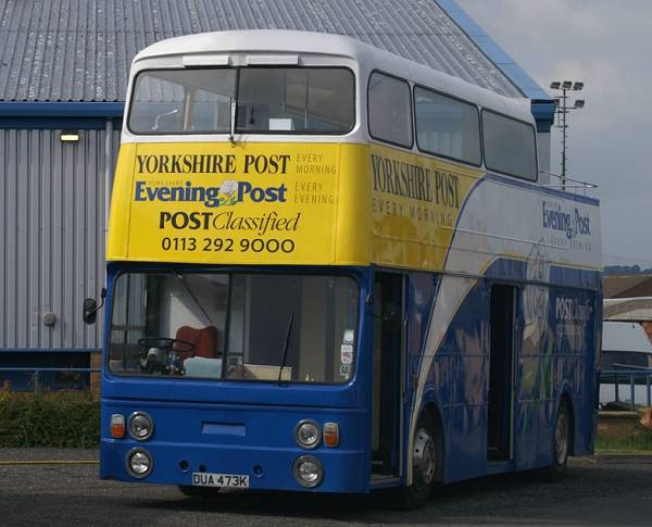 1971 Leyland Atlantean with Roe dual door body