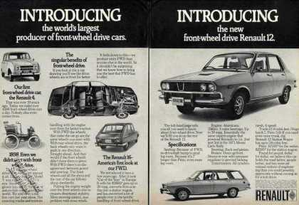 1971 Renault 12 ad
