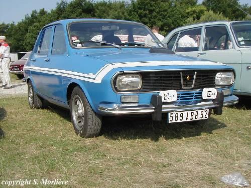 1971 Renault 12 Gordini b