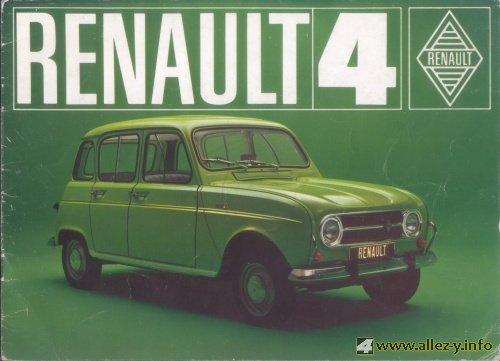 1971 Renault 4uk