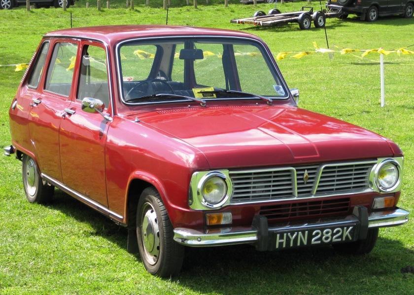 1971 Renault 6