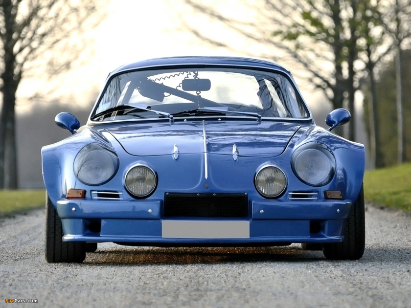 1971 Renault Alpine A110 1300 Group 4