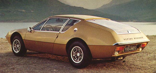1971 Renault Alpine A310