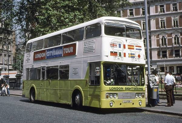 1972 Leyland Atlantean PDR2-1 with Roe H45-24F bodywork