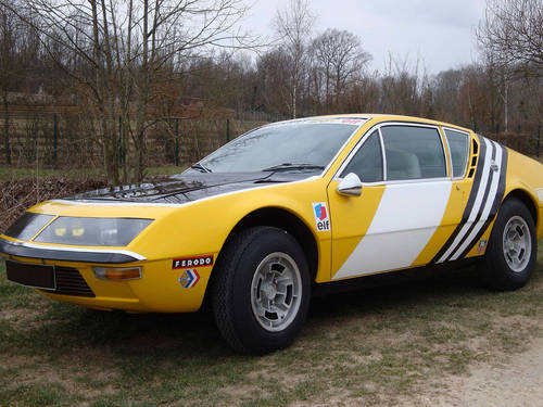 1973 Alpine Renault A310 VE 1600