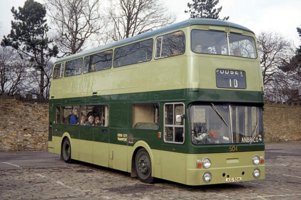 1973 Leyland Atlantean AN68-2R with Roe H45-33D body