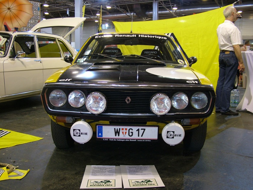 1973 Renault 17 Gordini