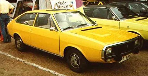 1974 Renault 15 front