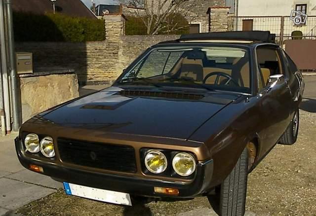 1974 Renault 17 2e phase