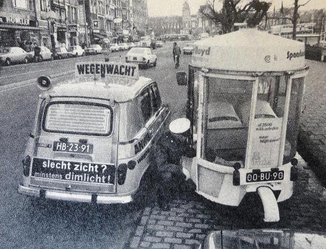 1974 Renault 4 ANWB 1974 HB-23-91 & Witkar 1974