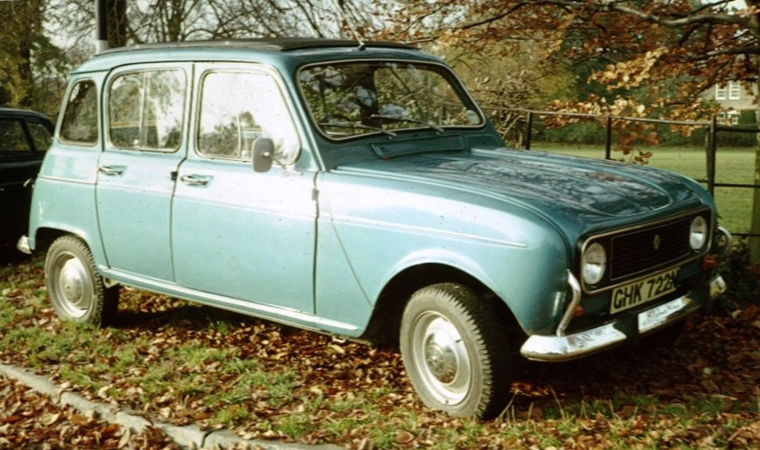 1974 Renault 4 one of the later ones 1974