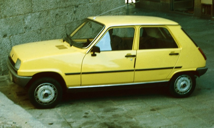 1974 Renault 5 First generation with 5 doors