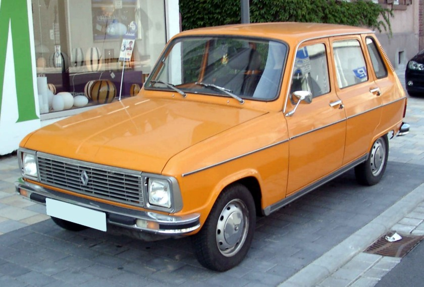 1974 Renault 6