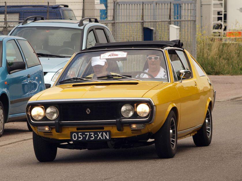 1974 Renault R17 TL