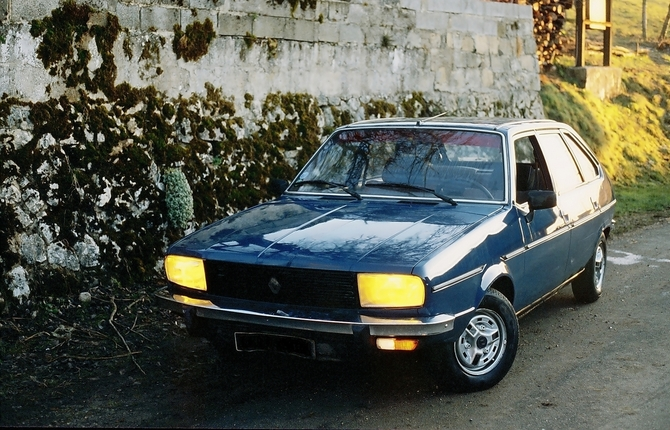 1975 renault 20 tl car
