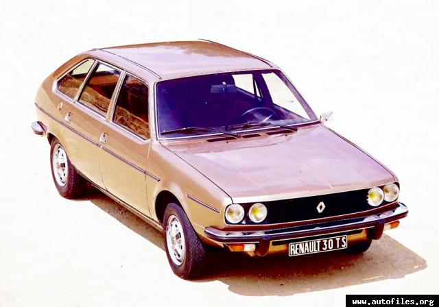 1975 Renault 30 TS Technical Specifications