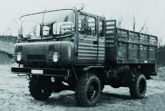 1975 Robur О-611, 4x4