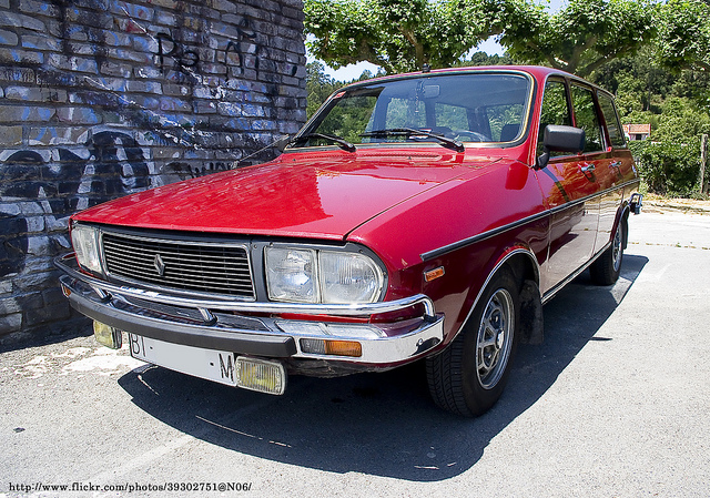 1976 Renault 12 TS Familiar