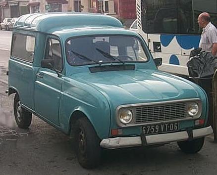 1976 Renault 4van