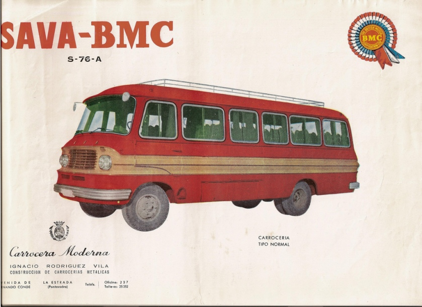 1976 SAVA-BMC S-76-A
