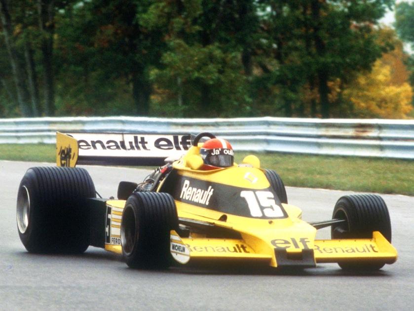 1977 Renault F1 car
