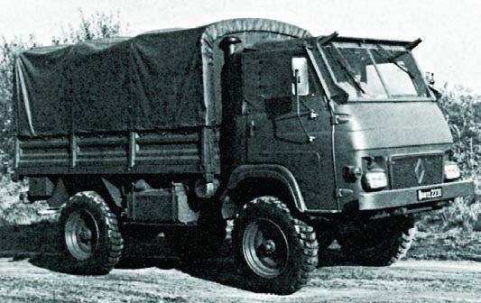 1978 Renault TRM-1200, 4x4
