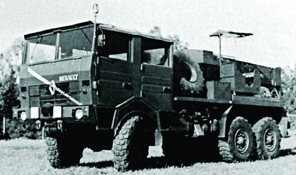 1978 Renault TRM-9000CLD, 6x6