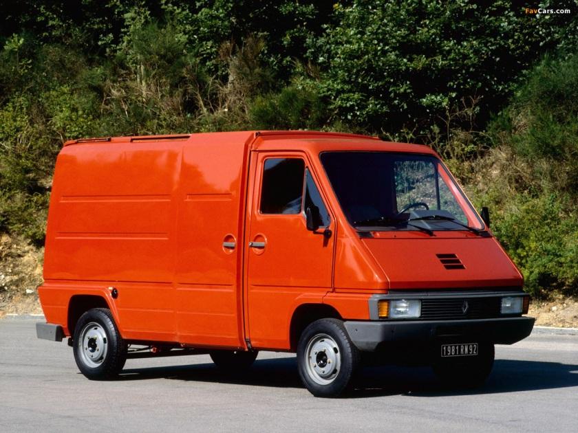 1980 Renault Master Van