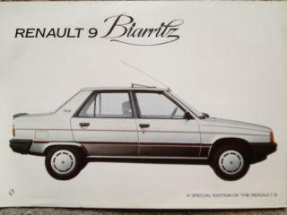 1981-88 Renault 9 Biarritz