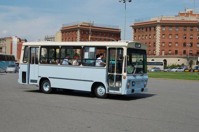 1981 Microbús Pegaso-Sava 5720 de 1981, carrossat per Unicar