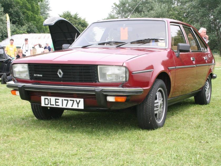 1982 Renault 20 2,2L