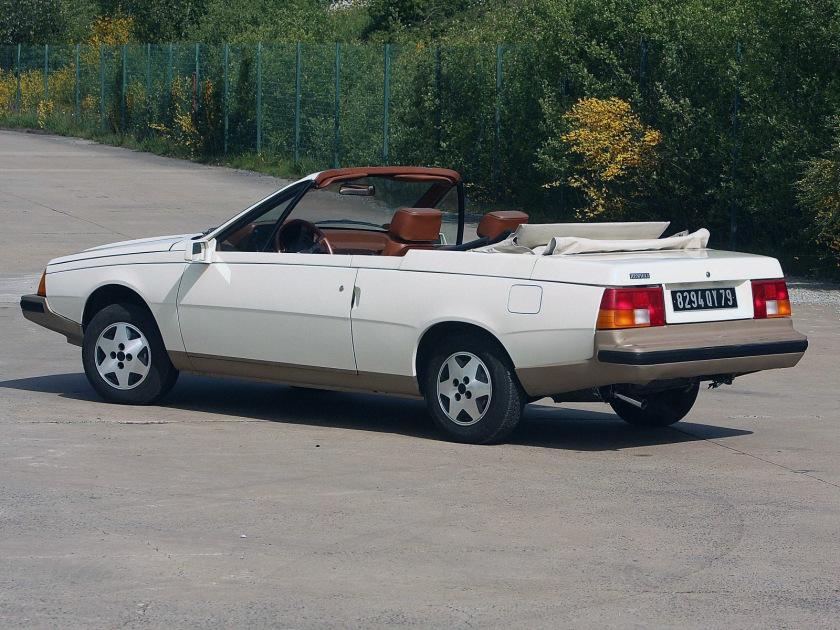1982 Renault Fuego Cabriolet Concept