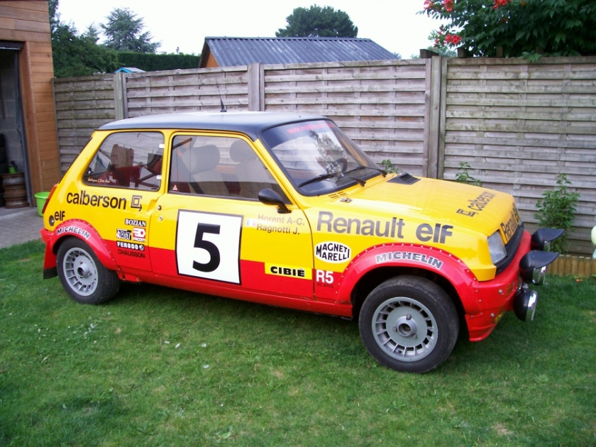 1982 Renault r5 alpine Benzine