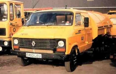 1982 Renault S36 achète la branche utilitaire de Talbot U.K