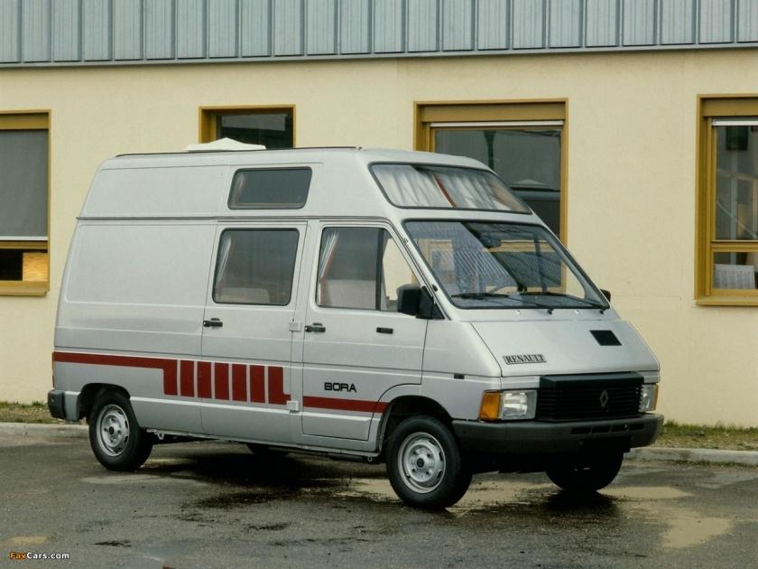 1982 Renault Trafic Bora 1982–89