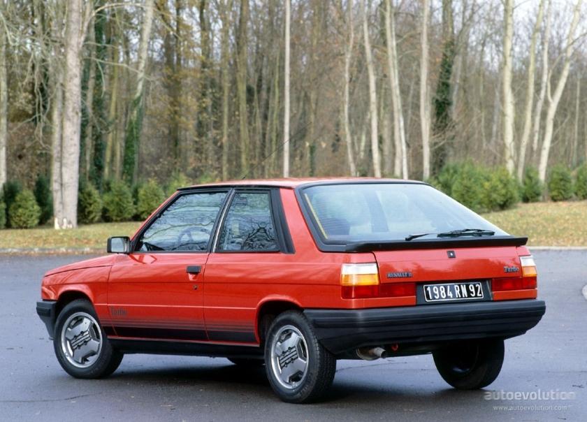 1983 RENAULT 11 3 door (1983 - 1986)