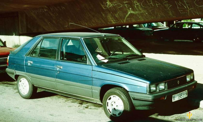 1983 Renault 11a