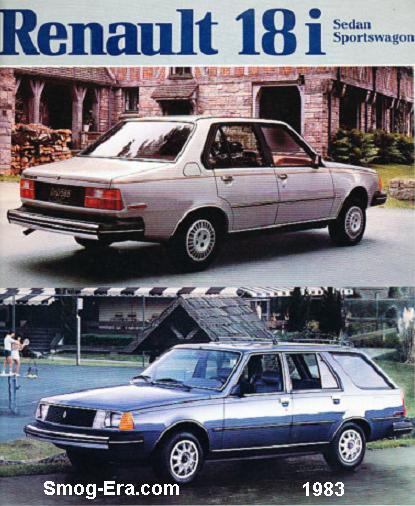 1983 renault 18i 1983