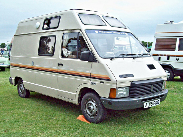 1984 361 Renault Traffic T1200 Camper (1984)