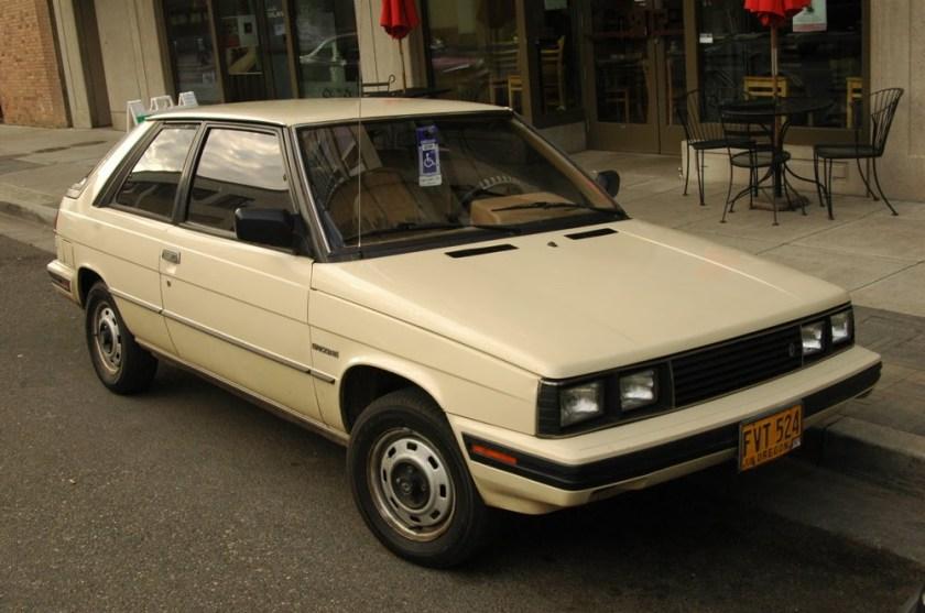 1984 Renault Encore Hatchback. - 1