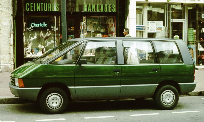1984 Renault_Espace_First_Iteration_Blois_1984