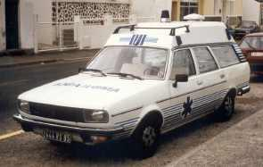 1985 Renault 20 Ambulance
