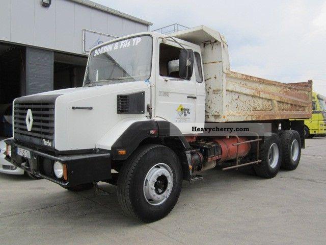 1985 Renault C 260 1985 Tipper Truck