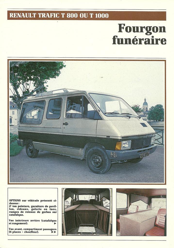 1985 Renault Funeraire Hearse