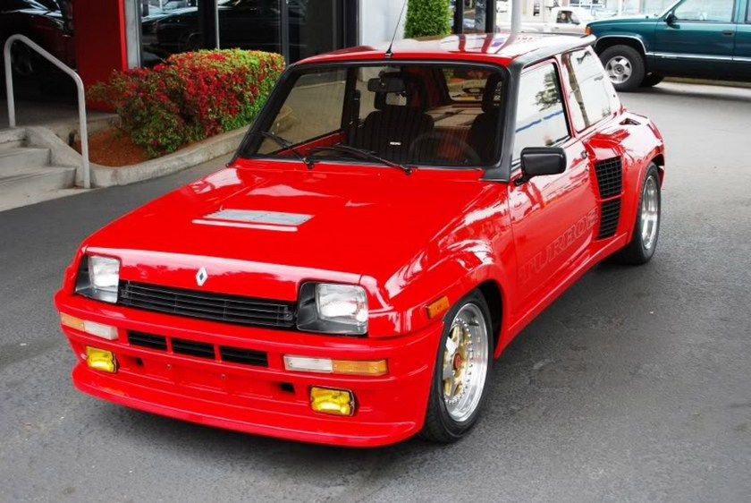 1985 renault r5 turbo ii