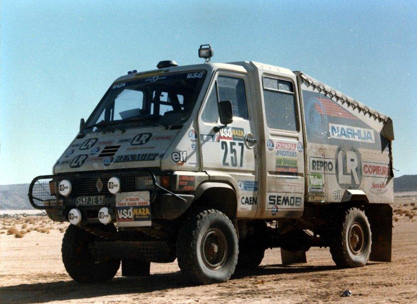 1986 N257-Paris-Dakar-Renault-B90-4x4