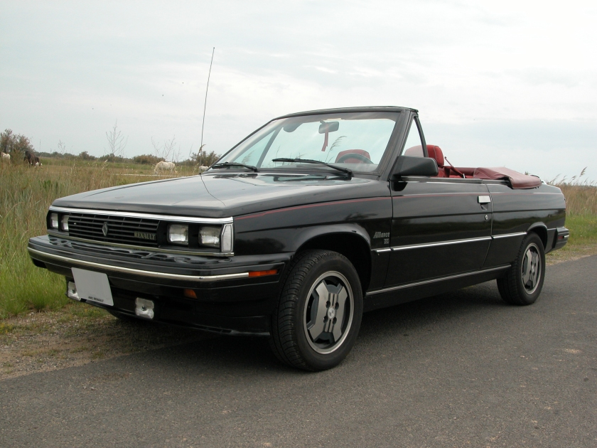 1986 Renault Alliance convertible