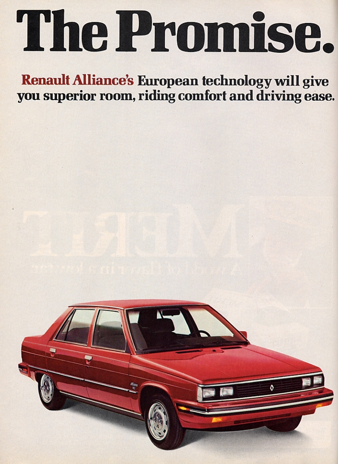 1986 Renault Alliance
