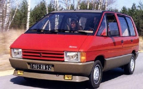 1986 Renault Espace Taxi Ville De Paris 1 (1986)